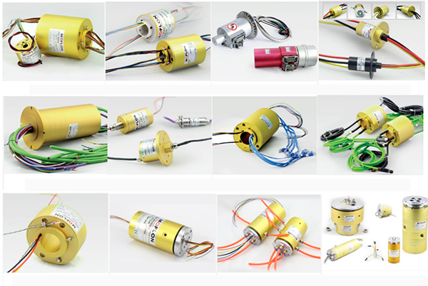 All types of slip rings