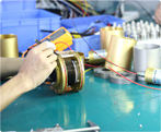 Assembly slip rings