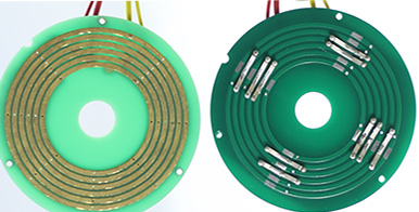 Disc Style of slip ring working